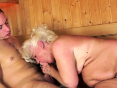 Chubby euro grandma pussylicked coupled with fingered