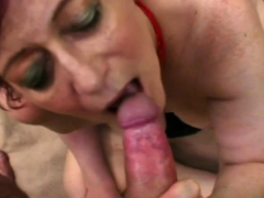 Hot gleam makes gilf tamara mourn over loud