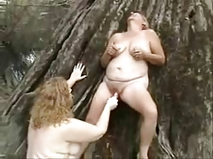 Old lesbian whores having fun surrounding be imparted to murder wood. Untrained