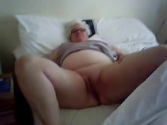 Jane, 81, strips for Tal