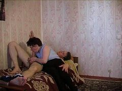 Russian Granny Coupled with Boy 113