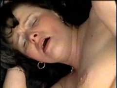 German granny realize whole-fucked