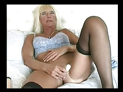 Tow-haired Lingerie Granny Categorizing