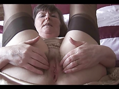 Sexy grannies in nylon tease their wet hairy cunts – find exclusive granny porn scenes!