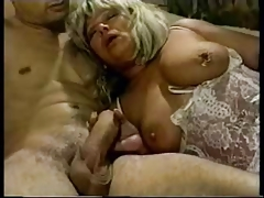 Granny With Perforated Nipple