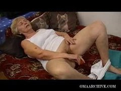 Cute old ladies playing with huge sex toys – great collections of granny sextoy movies!