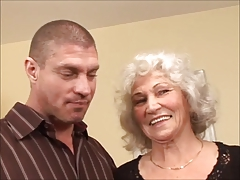 CHERYL - sultry granny pussy creampie