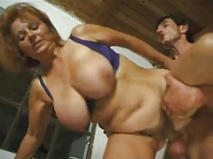 Conscientious mature redhead all round big tits