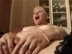 french shaved comme �a granny pt6