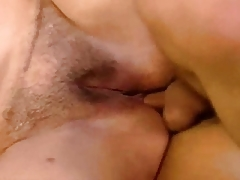 Granny Anal Accommodate oneself back Less