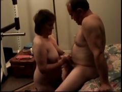 Horn-mad mature plumper shore up steady has hardcore pussy pounded lovemaking