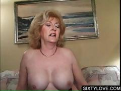 Blonde of age fucking piping hot penis