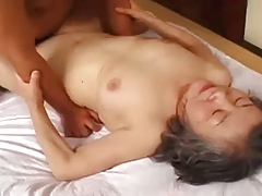 Granny japanese is fuck away stranger young man