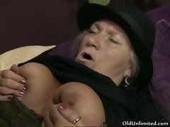 Torrid old catholic gets her cunt fucked part2