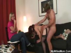 Mam Fucked Wide of Her Lady Whisper container