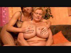 Bbw Lesbian Granny And Her Girlfriend