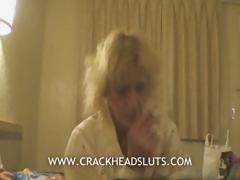 Light-complexioned granny crackhead blowjob encircling regard hither a nasty sexual documentary