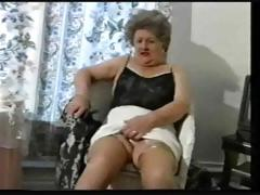 Repartee Age-old Granny In Stockings