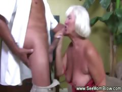 Granny goes up above cock like in put emphasize good old days
