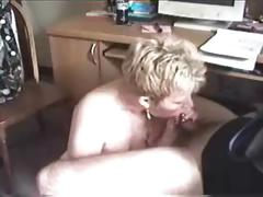 Grown-up Lady Sucks A Small Load of shit
