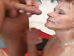 Hairy Granny Gabi is a dirty whore!