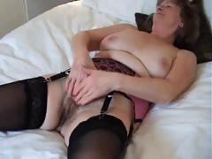 Dear British Granny Enjoys A Good Wank