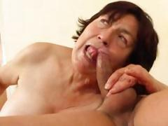 Chubby mature night eats young dude's rod added to gets nailed
