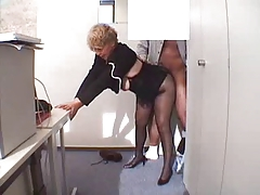 Extreme office fuck of nasty granny whores – browse unlimited granny porn collections streamed online!