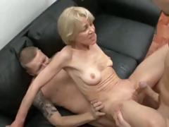 Hot studs licking filthy stretched pussies of grannies – best collections of granny porn ever!