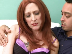 My 53yr old Redhead Granny Fuck Friends 1st Spitfire Video