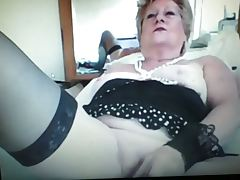 Hot granny teases on webcam 2