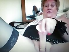 Hot granny teases greater than webcam 3
