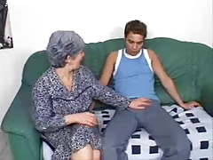 This Granny Wants A Young Cock In Her Ass