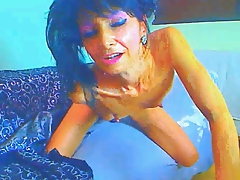 comely 52 year ancient granny strips increased by plays