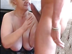 Sexy Blonde Granny Blows Young Thick Dick unconnected with TROC