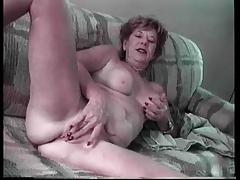 Granny Lydia Spitz Masturbates Added to Sucks For Cum