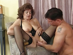 Grandma Plays in all directions Nylons 1
