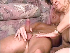 GRANNY- Mature Nasty with Young Boy