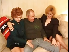 Kitty Fox with the addition of Granny Threesome