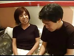 63yr old Japanese Granny Loves Younger Dick (Uncensored)