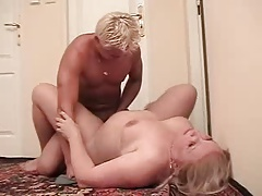 Russian Mom Coupled with not the brush son 04