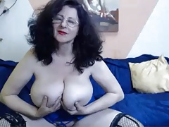 Webcam - 46 realm aged mature with huge tits persiflage