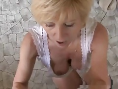 Sometimes, Domineering Talks #7 (Hot Blonde Granny GILF)