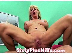 sex-crazed anal fucked granny