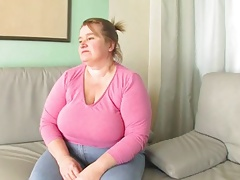 Redhead-BBW-Granny fucked by young Chap