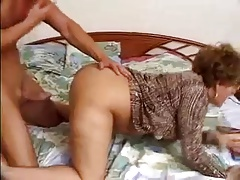 Sexy Older Woman In all directions Glasses Fucks Young Load of shit