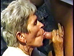 GERMAN GRANNY WITH GREY HAIR FUCKED OUTDOOR BY A Living souls PART 1