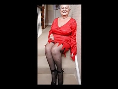 sexy granny in various dresses part 2