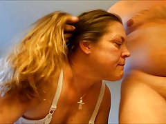 Granny Old Mature Cougar Facial Cumshot Abyss Throat Blowjob