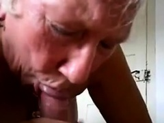 Cute Granny Sucks On A Cock Try for For View
